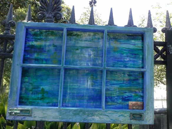 Blue Water Window