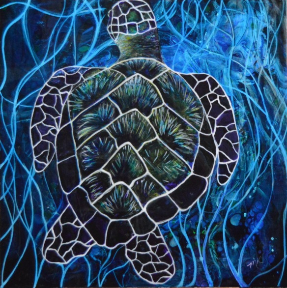Other worldly Sea Turtle